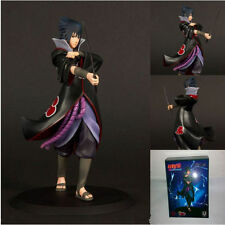 "Figure doll Anime Naruto Shipuden Uchiha Sasuke 17cm 6.7"" Figurine New in Box A"