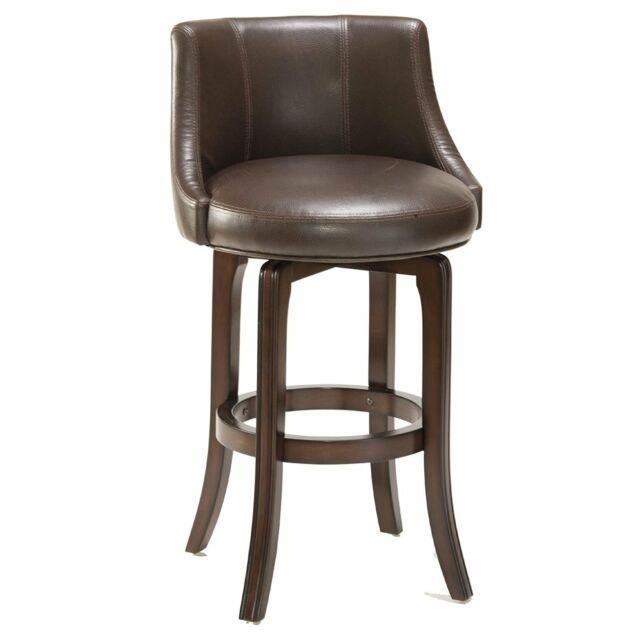 Marvelous Hillsdale 4294 827I Napa Valley Swivel Counter Stool Barstool Brown Leather New Caraccident5 Cool Chair Designs And Ideas Caraccident5Info