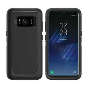 For-Samsung-Galaxy-S8-Plus-Defender-Case-Cover-with-Belt-Clip-amp-Screen-Protector