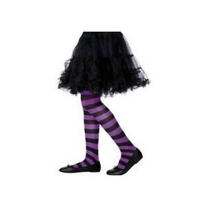 Simply black and purple striped hosiery final, sorry