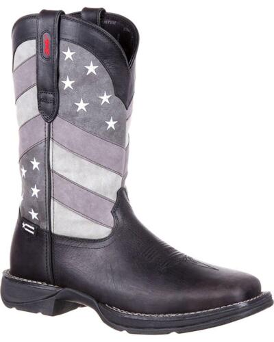 Durango Rebel Men/'s Faded Flag Western Boot DDB0125 Square Toe