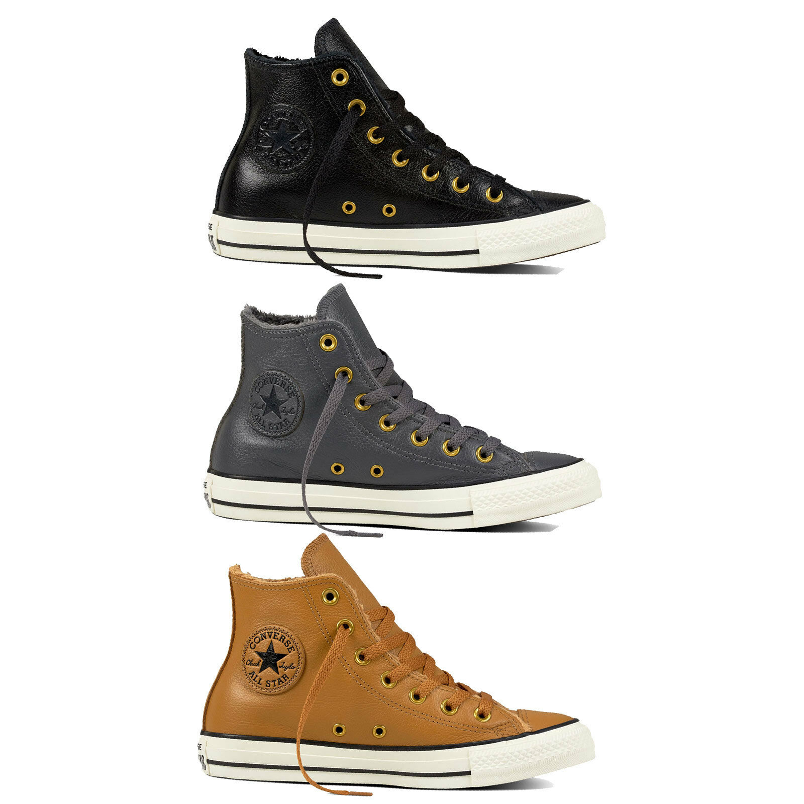 Zapatos promocionales para hombres y mujeres Converse Chuck Taylor All Star Hi Zapatos De Mujer Zapatillas Forrado invierno
