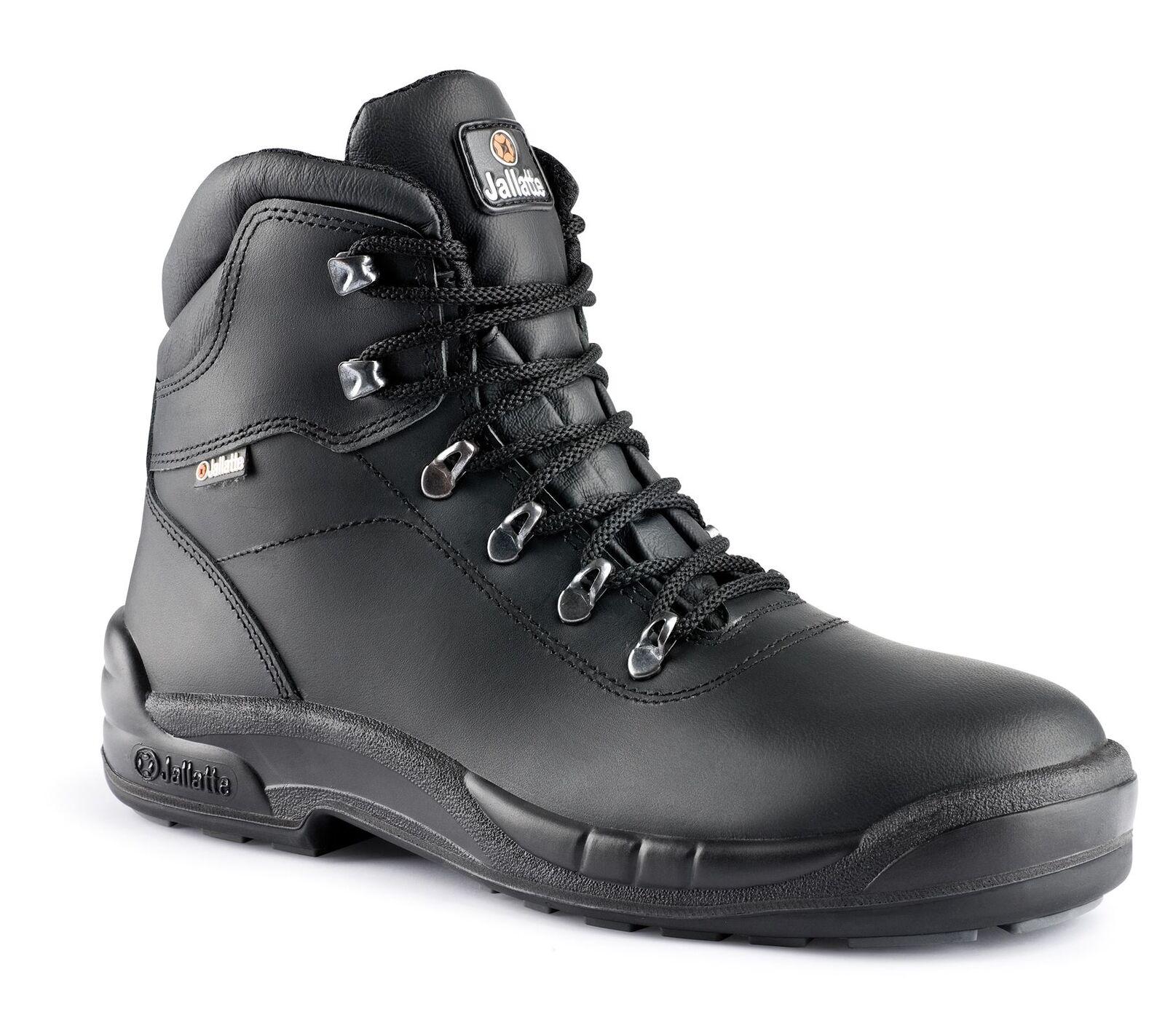 JALLATTE lavoro jalmaia Pizzo Pelle sicurezza sul lavoro JALLATTE puntale intersuola uomo boots d39c5b