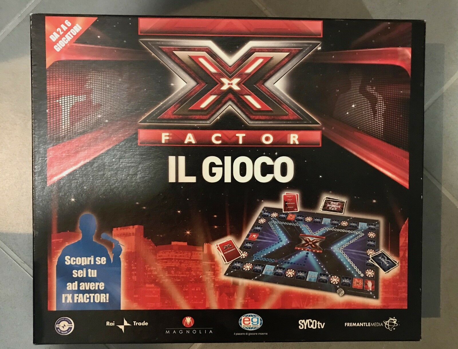 GIOCO EG IN SCATOLA X FACTOR rai musica endemol EG GIOCO DA TAVOLO 7b9db6