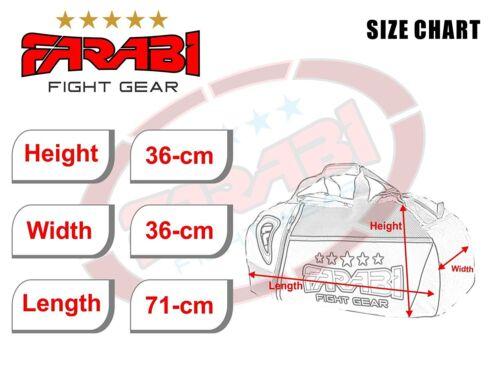 Farabi Gym Fitness Workout Gear Bag Boxing Gear Bag Kit Bag Back Pack MMA