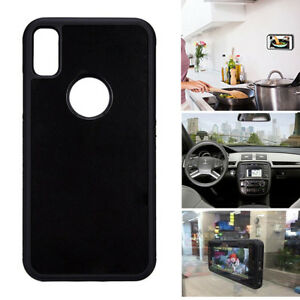 info for eeed2 449ef Details about For iPhone X/10 Anti Gravity Case Goat Suction Magic Stick  Selfie Phone Cover