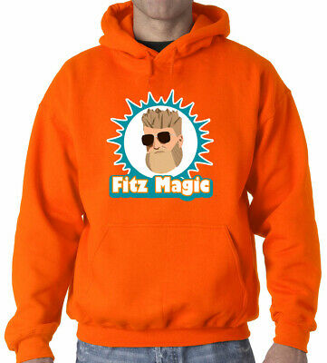 "Ryan Fitzpatrick Miami Dolphins /""FitzMagic Logo/"" T-Shirt"