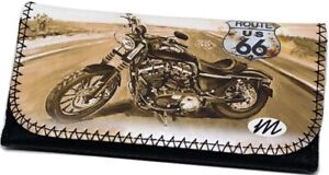ROUTE USA 66 MOTORBIKE Tobacco Cigarette Smoking Paper Pouch Case Bag Holder