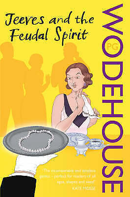 """1 of 1 - """"VERY GOOD"""" Jeeves and the Feudal Spirit, Wodehouse, PG, Book"""