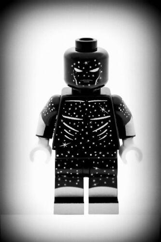 Custom Designed Minifigure Starman Superhero Printed on LEGO Parts