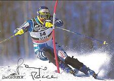 Autógrafo ak giorgio rocca italia Ski Slalom 11 weltcupsiege, 3 x WM-bronce 14