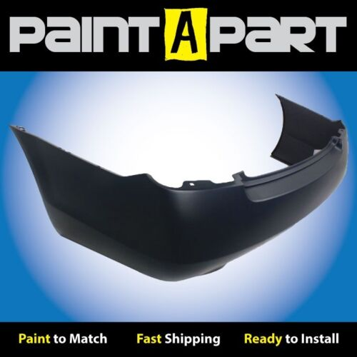 Rear Bumper PREMIUM 3.5L,6CYL,2 Exhst Fits:2006 Nissan Altima Painted