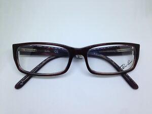 RAY-BAN RB5078 glasses woman burgundy dark woman rectangular glasses ... 29e99fc6298a