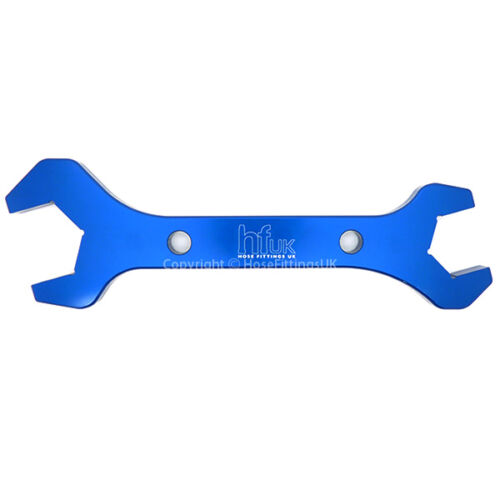 AN-12 AN-16 ALUMINIUM DOUBLE WRENCH SPANNER Oil Hose Fitting Lightweight ALLOY