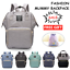 Waterproof-Large-Mummy-Nappy-Diaper-Bag-Baby-Travel-Changing-Nursing-Backpack thumbnail 1