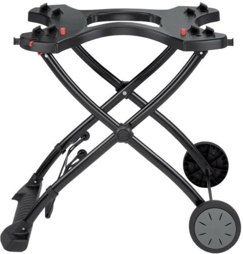 Weber Gas Grill Rolling Cart Stand Portable Rolling Wheels Q 1000//2000 Camping