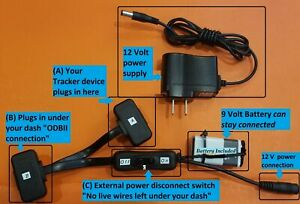 Progressive Snapshot Hack >> Details About Obdii Extension With Battery Outlet Power For Progressive Snapshot Other Obd2