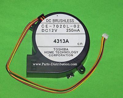 Beschouwend Toshiba Intake Lamp Blower Fan: Ce-7020l-02