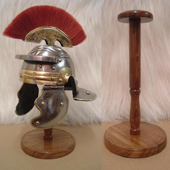 Mini - Roman Legionnaires Helmet and Stand