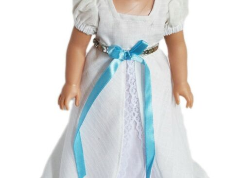 """Doll Clothes 14.5 Inch Dress White Victorian Fit 14.5/"""" AG Wellie Wishers Dolls"""