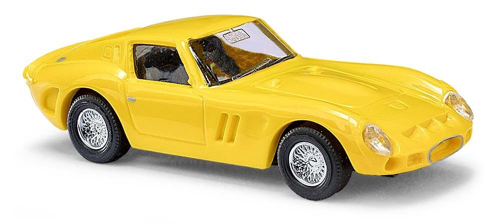 Busch 42602 42602 42602 - H0 1:87 - Ferrari 250 GTO, jaune - Neuf Emballage d'origine 7f275e