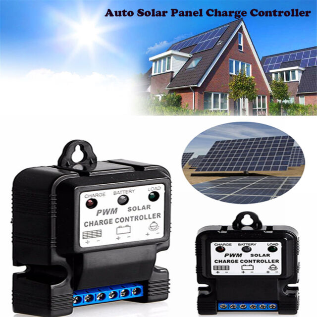 6V12V10A Auto Solar Panel Charge Controller Battery Charger Regulator PWM Hot