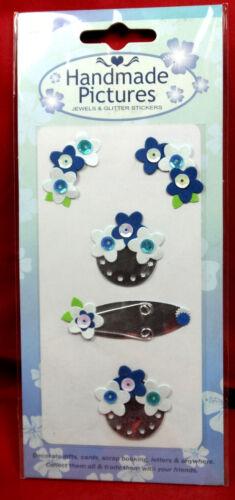 Stick on card embellishments papercrafts