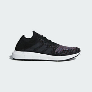 adidas-Swift-Run-PK-Primeknit-Mens-Shoes-Black-Grey-Heather-CQ2894