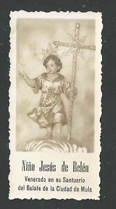 image pieuse ancianne de Jesus Bambino santino holy card estampa DQiw81iR-09163948-458983278