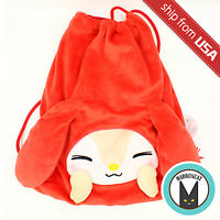 Japan Sanrio Little Forest Fellow My Melody Large Laundry Shoe Bag Backpack Soft
