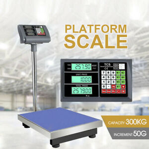 Electronic Computing Digital Platform Scales Postal Shop Scale Weight 300kg