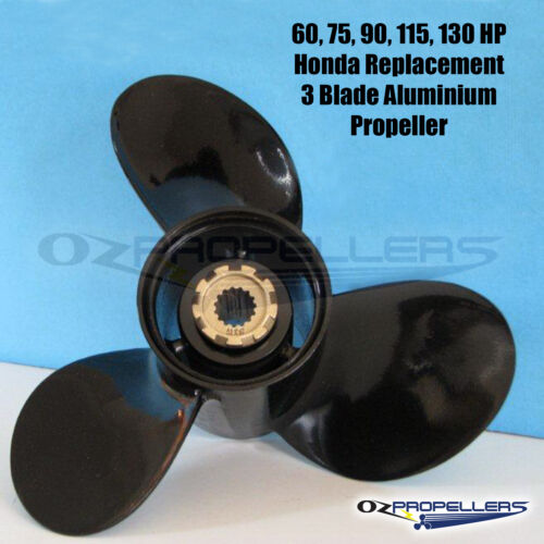 13.5 x 15 For Honda 60-130hp Propeller 3 Blade Aluminum Prop High Quality