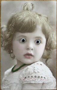 Girl-w-Glass-Eyes-Eyballs-1920s-Realphoto-French-Fantasy-Novelty-Postcard