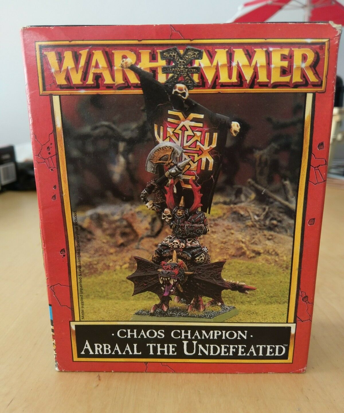 Games Workshop Arbaal the Undefeated - Brand New