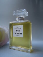 CHANEL no19 EDP 50ml oltre RARO VINTAGE SPLASH 1970s-80s senza scatola odori FAVOLOSO