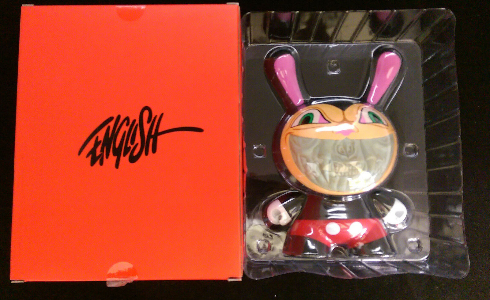 Kidrobot Grin Dunny Apocalypse 8  by Ron English Vinyl figure