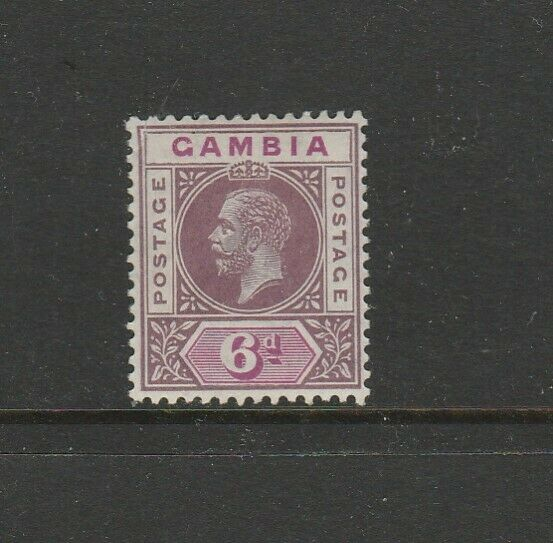 Gambia 1912/22 Crown CA 6d MM SG 94