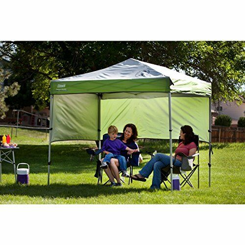 Coleman Instant Canopy Sunwall Accessory Only 5ft X 7ft Sun Shelter