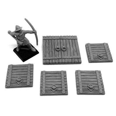 Grabblecast GC/_0034 Wooden Trapdoors Wargames Terrain Frostgrave DnD Dungeon