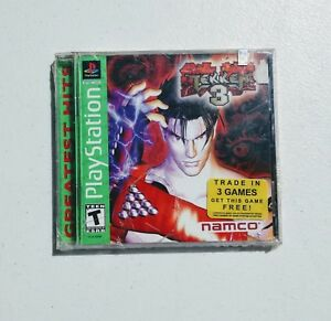 New Tekken 3 Sony Playstation 1 Ps1 Sealed Namco Arcade Fighting