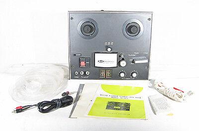 @ Vintage Allied Model TD-1025 Reel to Reel Tape Deck Made in Japan