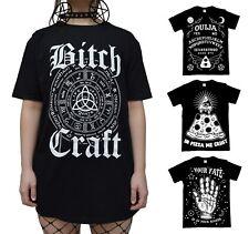 Occult Gothic T Shirt - Black Satanic Alternative Clothing - Official Luna Cult