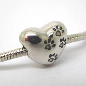 charm pandora impronta cane