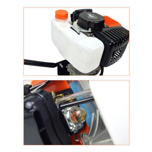 "71cc 2-Stroke Petrol Earth Auger 3 Auger Bits 4/"" 6/""a 8/"" Fence Post Hole Borer"