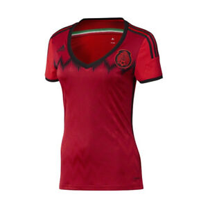 adidas-Women-039-s-Mexico-14-15-Away-Jersey-Red-Black-D85408