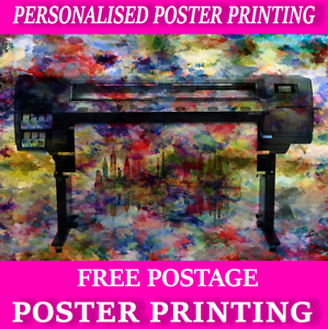 Photo Quality Paper A0 A1 A2 A3 A4 Colour Poster Printing Service Satin