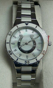 Indianapolis Colts Game Time Pearl Watch MOP Mother of Pearl NFL-PEA ... 0d927b565