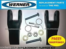 Werner Replacement Flipper Parts Kit 29 1 Fiberglass Amp Aluminum Extension Ladder