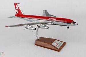 Inflight-IF7200716P-Avianca-Colombia-Boeing-720-059-HK-724-Diecast-1-200-Model