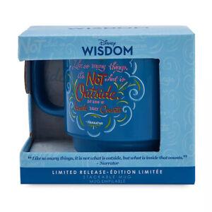 Disney-Wisdom-Mug-Aladdin-Genie-Limited-Release-Abu-What-Counts-Is-On-the-Inside